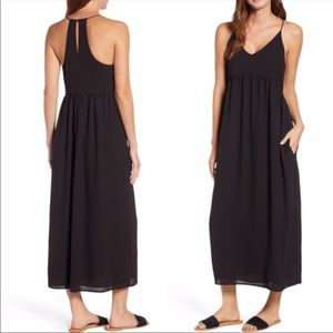 Gibson Black Palm Springs Festival Maxi Dress S